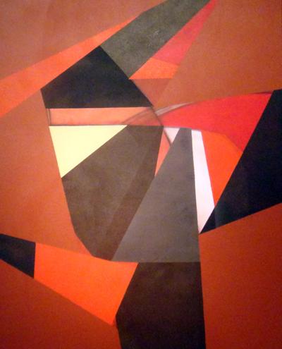 siteobra Livin´without fear de Fabiana langaro Loos 100x80 cm acrílica sobre tela